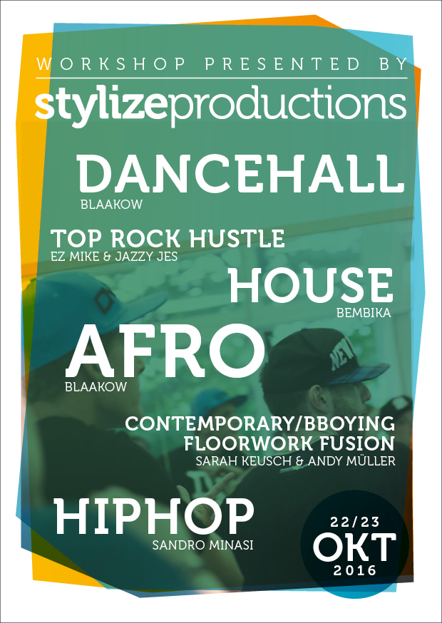 22. & 23.10.2016   Stylize Productions Workshop
