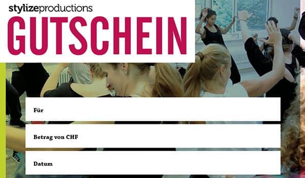 Stylize Productions Gutschein Bestellen
