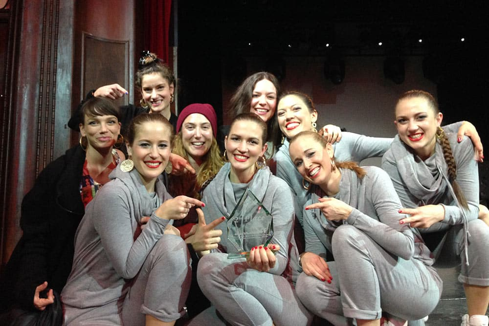 2. Platz @ DanceOff, 2014. Foto: unknown