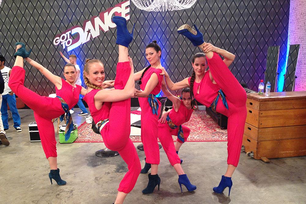 Backstage @ Got to Dance Germany, 2014. Foto: Eleonora TeKi TeKua